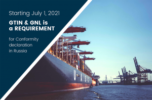 GTIN and GNL Requirements for Conformity declaration in Russia