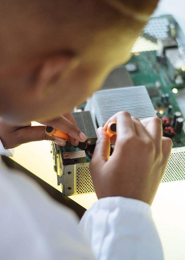 RMA service laboratory